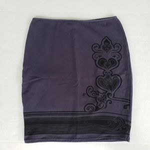Free People stretch skirt